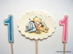 https://www.etsy.com/listing/228965232/winnie-piglet-eyore-1st-birthday-cake Winnie Piglet & Eyore 1st Birthday Cake by PrettyPaperCottage