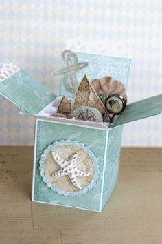 Prima Seashore pop out trinket box