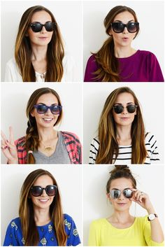 Merrick's Art // Style + Sewing for the Everyday Girl: THE MOST FLATTERING SUNGLASSES FOR YOUR FACE SHAPE