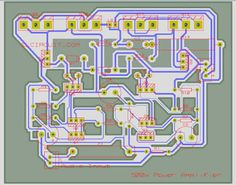 Layout PCB 500W power Amplifier