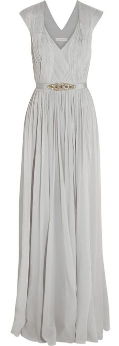 Grey gown / Matthew Williamson wish it was in pink