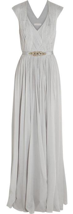 Grey gown / Matthew Williamson