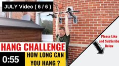mrix`s Hang Challenge July Carnival Games, Challenges, Exercise, Train, Ejercicio, Excercise, Exercise Workouts, Physical Exercise, Work Outs