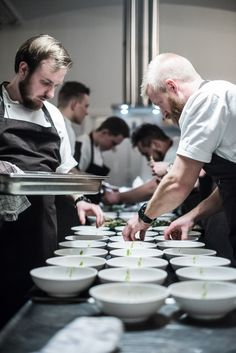 Chef's table with Christoffer… | Martin Kaufmann Photography