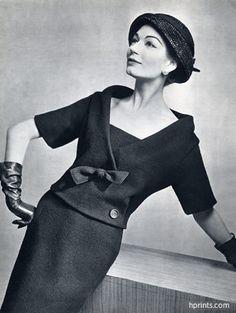 Christian Dior 1957 Photo Pottier