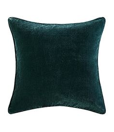Poetic Wanderlust by Tracy Porter Florabella Velvet and FauxSilk Square Feather Pillow #Dillards$59.99