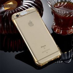 Smart LED Light Flash Phone Case For iPhone 5S SE 6 6S 7 Plus Transparent Drop Resistant Clear TPU Cover For iPhone 5s