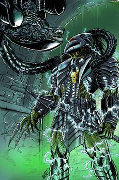 Aliens and Predator favourites by Mydole on DeviantArt