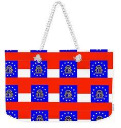 Georgia Weekender Tote Bag featuring the digital art Georgia by Otis Porritt