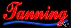 Tanning Handcrafted Energy Efficient Glasstube Neon Signs