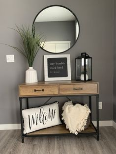 Home Living Room, Living Room Decor, Bedroom Decor, Home Decor Kitchen, Diy Home Decor, Home Entrance Decor, Home Interior Design, Furniture, Foyer Design