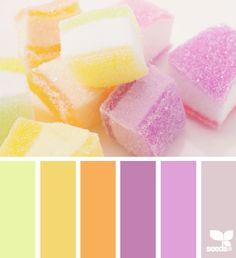 sugared tones color palette from Design Seeds Colour Pallette, Color Palate, Colour Schemes, Color Patterns, Color Combinations, Pantone, Decoration Palette, Stoff Design, Color Harmony