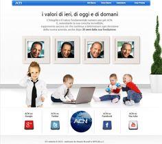 Sito web realizzato per ACN Team Italia presente in tutta Europa