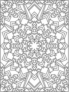 Creative Haven Coloring Books for Adults Unique Mandala 625 Creative Haven Mandala Madness Coloring Book Dover Publications Pattern Coloring Pages, Mandala Coloring Pages, Coloring Book Pages, Printable Coloring Pages, Coloring Sheets, Geometric Coloring Pages, Doodle Coloring, Colouring Pics, Pintura Zen