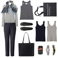 how to do a simple work wardrobe.