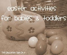 Baby Time:  Easter Activities