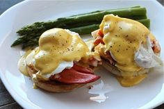 lobster eggs benedict I believe this will be my standing Friday breakfast order. :)