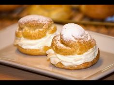▶ Best I've seen - Cream Puff Pastry or Pate a Choux in English - YouTube