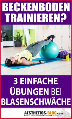 Exercise pelvic floor - 3 simple exercises for weak bladder You suffer from . - Exercise pelvic floor – 3 simple exercises for weak bladder You suffer from one # Bladder weaknes - Pilates Training, Pilates Workout, Butt Workout, Fitness Workouts, Easy Workouts, Yoga Fitness, Easy Fitness, Fitness Quotes, Fitness Motivation