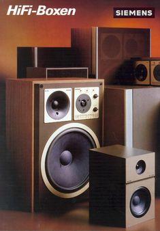 Vintage audio loudspeaker collection - 1001 Hi-Fi Component Speakers, Music Power, Speaker Design, Stereo Speakers, Loudspeaker, Audio Equipment, Audiophile, Vintage Ads, Apple Tv