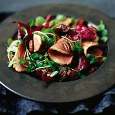 Salad of smoked duck, dried cranberries and spiced pecans with some Saronsberg Provenance Rose! Duck Recipes, Pecan Recipes, Free Recipes, How To Cook Duck, Easy Cooking, Cooking Recipes, Spiced Pecans, Tasty, Yummy Food