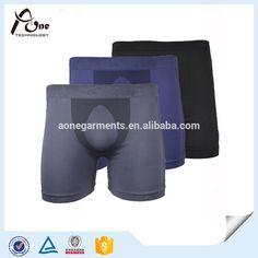 mens lycra short underware | Nylon Spandex Mens Organic Underwear Boxers Shorts - Buy Organic ...