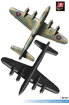 Navy Aircraft, Ww2 Aircraft, Military Aircraft, Handley Page Halifax, Air Force Bomber, Aviation World, Heavy And Light, Aircraft Painting, Flying Boat