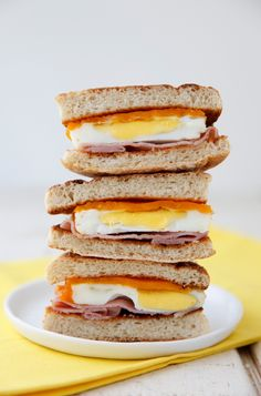 Make your own Egg McMuffin for a healthier breakfast!