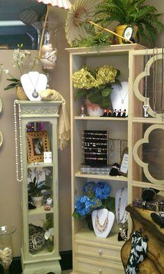display cabinets at Details in Winter Park FL, Retail Details Blog, Swirlmarketing.com