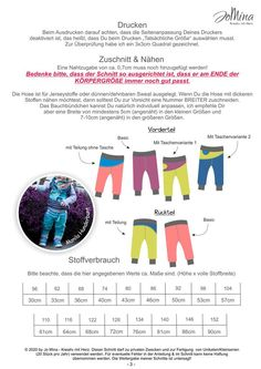 """Freebook - """"Snug Bux"""" - Hose - Jo Mina - Glückpunkt. Snug, Clothes, Sewing For Kids, Tutorials, Hand Crafts, Outfits, Clothing, Kleding, Outfit Posts"""