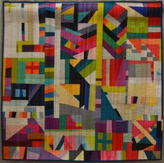 NydiaKehnle_RabbitHole1 | by Luana Rubin. QuiltCon Feb 2015 in Austin, Texas.