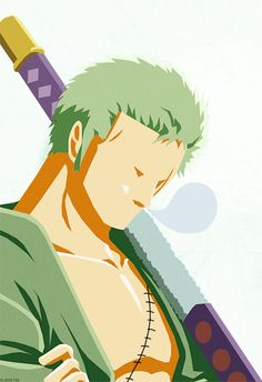 Roronoa Zoro, the sleepy swordsman ;)