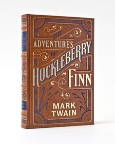 The Adventures of Huckleberry Finn.  Barnes & Noble Leatherbound Classics, 2011.  Cover by Jessica Hische.