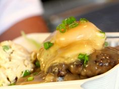 Loco Moco recipe from Food Network Specials via Food Network