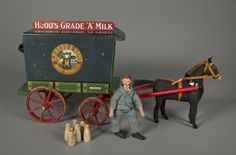 78.3483: Milk Delivery Wagon | delivery wagon | Play Sets | Toys | Online Collections | The Strong