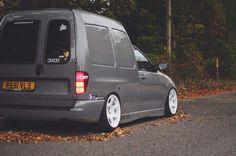 Grey vw caddy mk2
