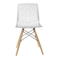 Aeon Furniture Contemporary Sandra Side Chair & Reviews | Wayfair