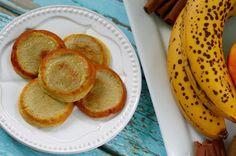 Banáncsinta (1banán-2tojás) Waffles, Pancakes, Paleo, Keto, Crepes, Diet Recipes, Banana, Fruit, Breakfast