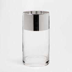 Silver Rim Vase - Vases - Decoration | Zara Home Turkey