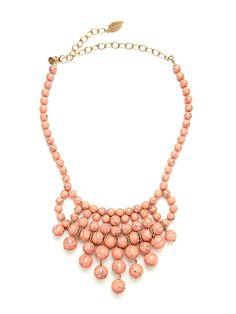 Blush Turquoise Necklace, David Aubrey