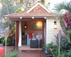 Tropical Garage And Shed Design, Pictures, Remodel, Decor and Ideas