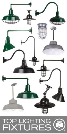 Affordable collection of barn lights with multiple mounting options. Add a stylish farmhouse feel without breaking the bank.