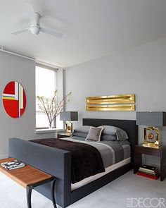 A Dramatic Manhattan Apartment - George Nunno New York Apartment - ELLE DECOR