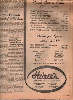 Heinen's ad 11/25/1963