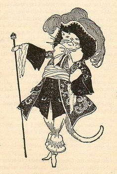Puss-in-Boots |  from The Blue Fairy Book, 1926 |  Illustrated by Manning DeV. Lee