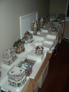. . Tulsa Tiny Stuff: How to set up a Christmas Village Part I