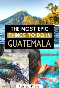Here are the most epic things to do in Guatemala. Between volcanoes, lakes and rainforests, you will fall in love with Guatemala. There are so many things to discover for adventure seekers and nature lovers | Guatemala Travel Guide | What to do in Guatemala| Guatemala Itinerary | Guatemala Travel | Guatemala Activities| #guatemala South America Travel, North America, Travel Guides, Travel Tips, Budget Travel, Travel Destinations, Stuff To Do, Things To Do, Equador