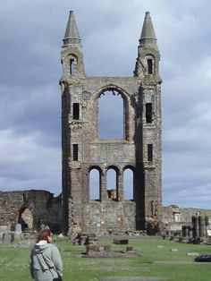 Castle Photo Archive, St. Andrew's Cathedral, Scotland