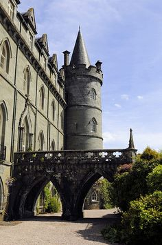 Inveraray Castle, Inverary, Argyll, Scotland, UK