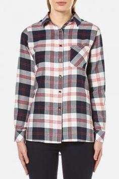 Barbour Women's Dock Shirt - Multi - UK 10 https://modasto.com/barbour/kadin-ust-giyim-gomlek-bluz/br4757ct4